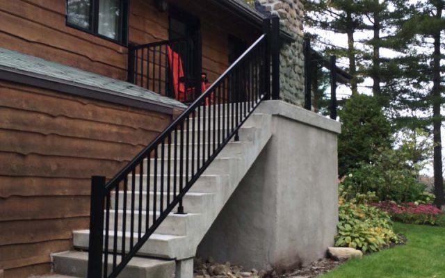 Rampes en aluminium - Rampes et balcons St-Sauveur