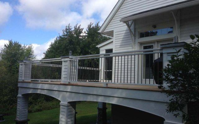 Rampes enfer forgé - Rampes et balcons St-Sauveur