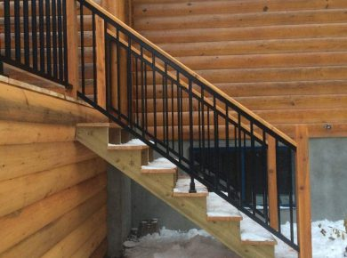 limons et escaliers en aluminium et en bois rampes balcon ss. Black Bedroom Furniture Sets. Home Design Ideas