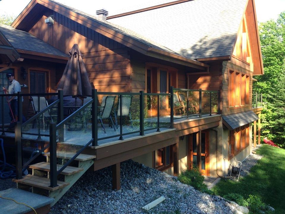 rampes en verre 49 rampes balcons. Black Bedroom Furniture Sets. Home Design Ideas