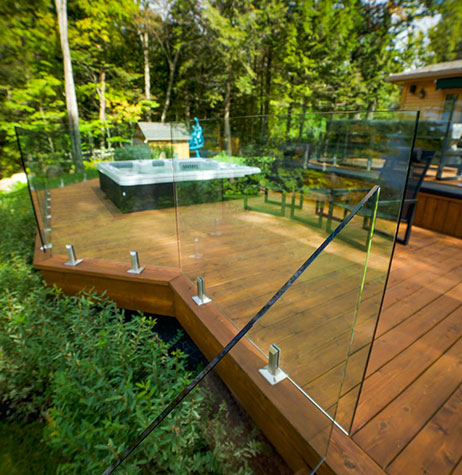 Glass Railings Ramps And Balconies St Sauveur