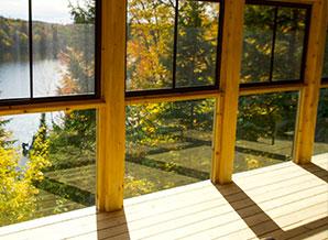 patios, balcons et verandas