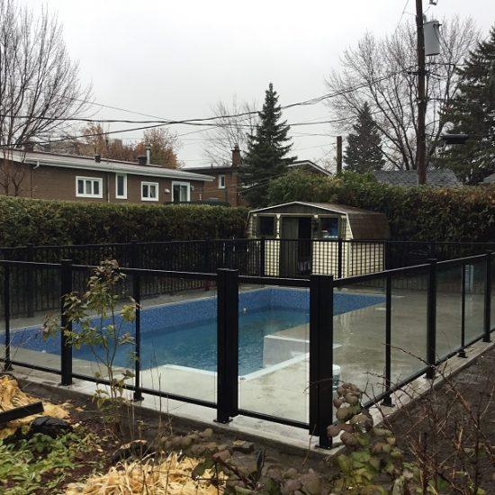 cloture de piscine à Laval
