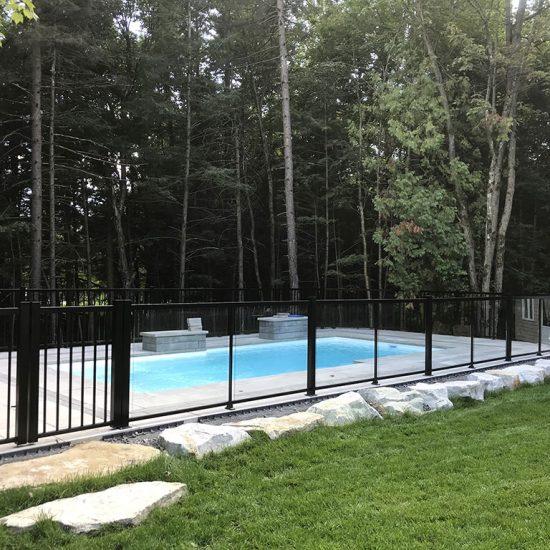 cloture de piscine à mirabel 02