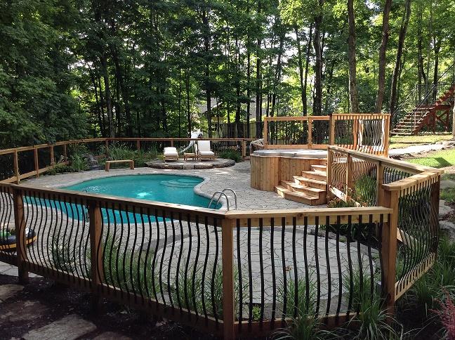 clôture de piscine Saint-Sauveur