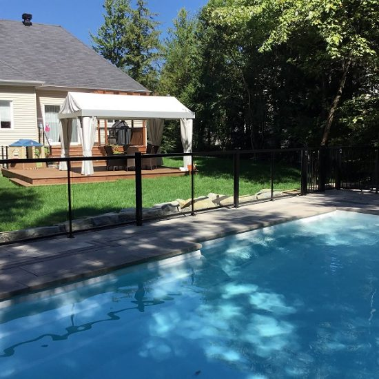 cloture de piscine à mirabel 05