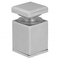 Standoff carré pour rampe en verre