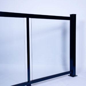 Rampe en verre 6 mm Trempé