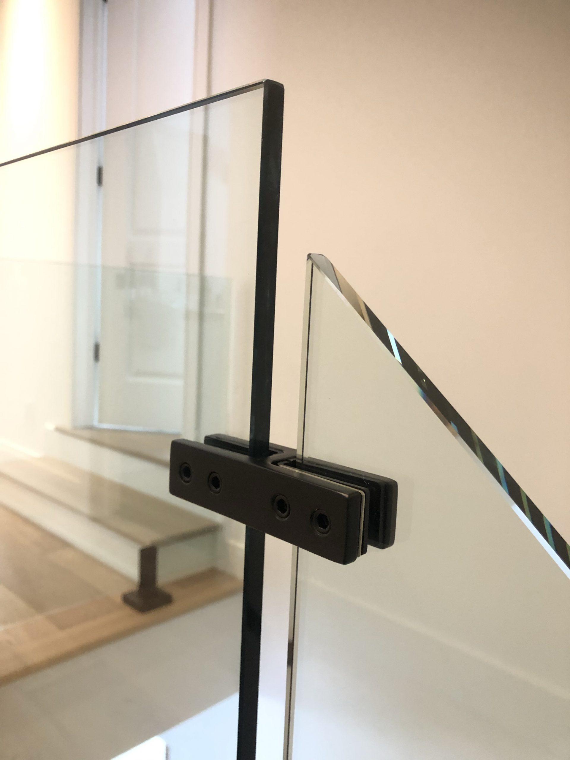 Pinces verre à verre 180°