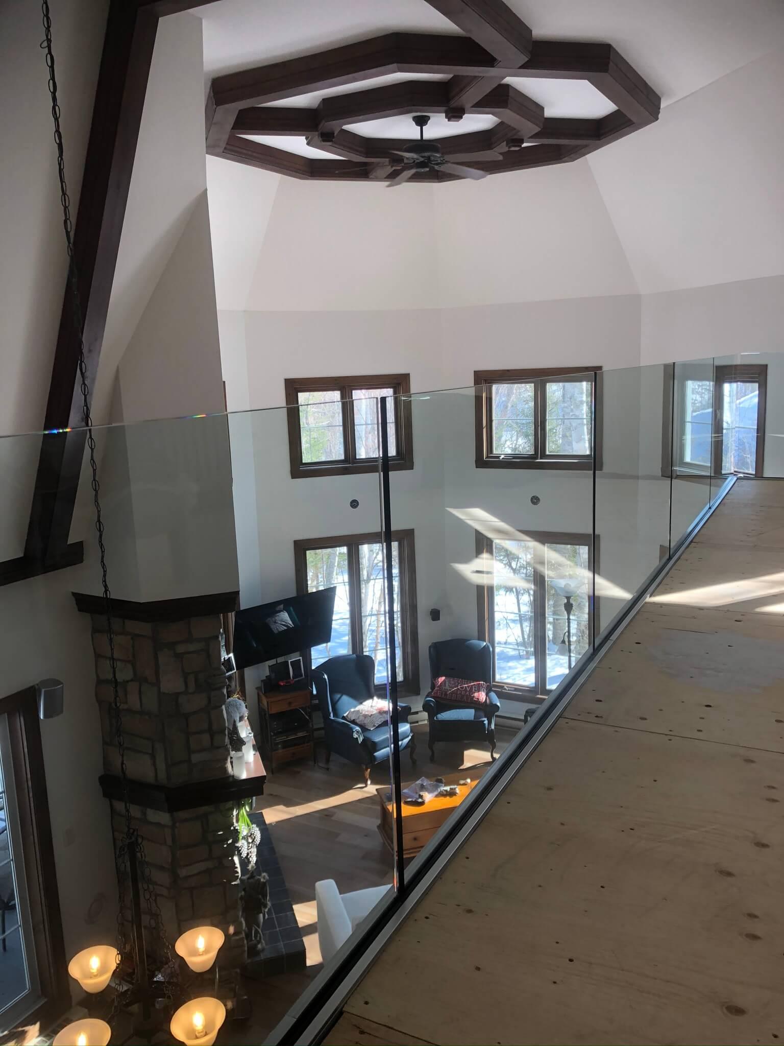 interior mezzanine glass railing 01