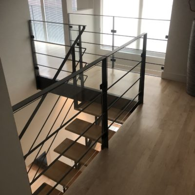 Interior and exterior railings in Dorval