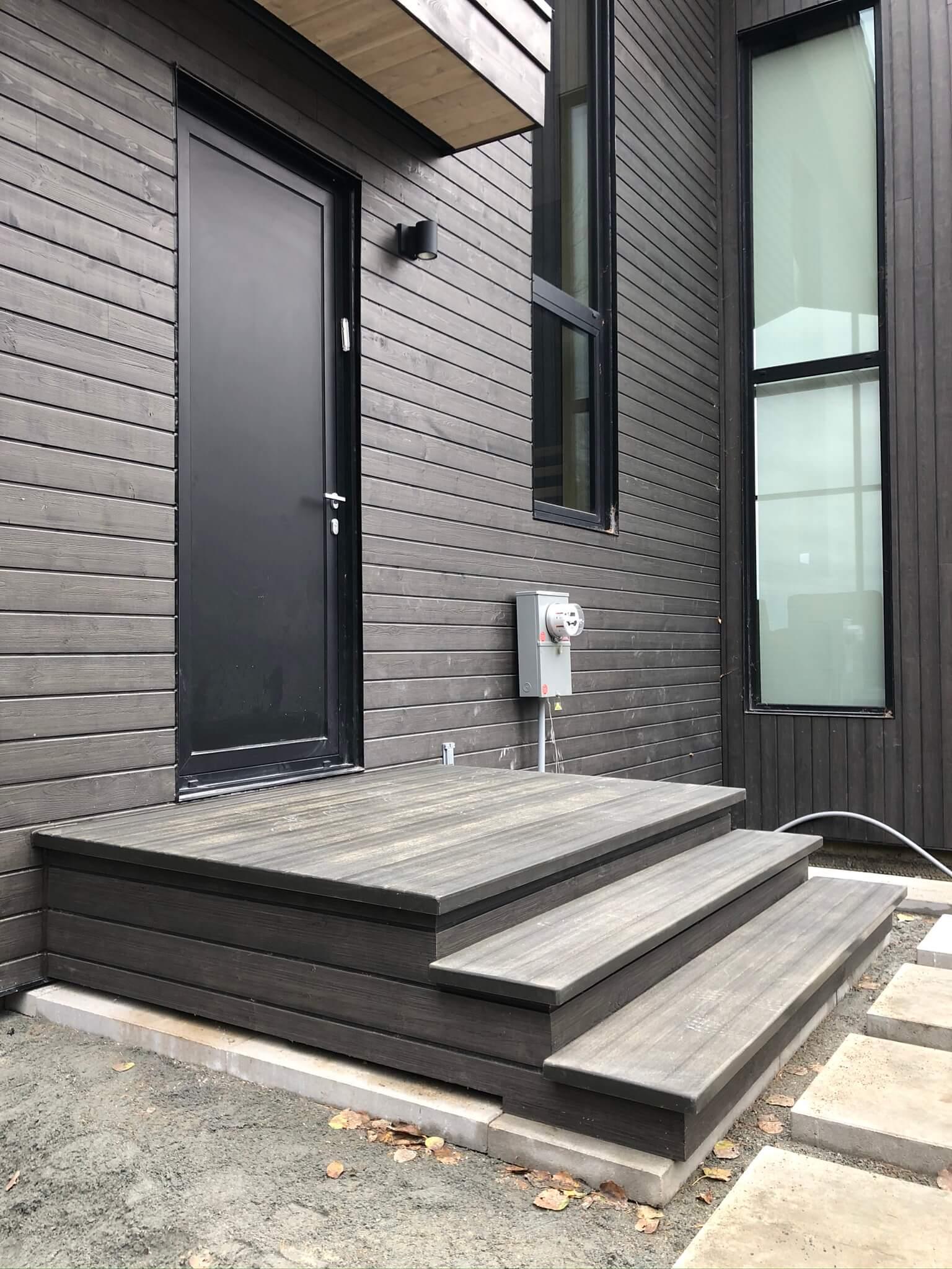 balcon en fibre d'ingénierie 01