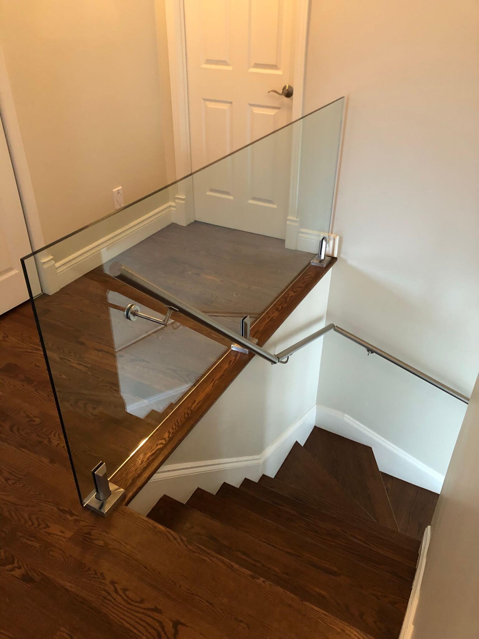 rampe intérieure en verre 03