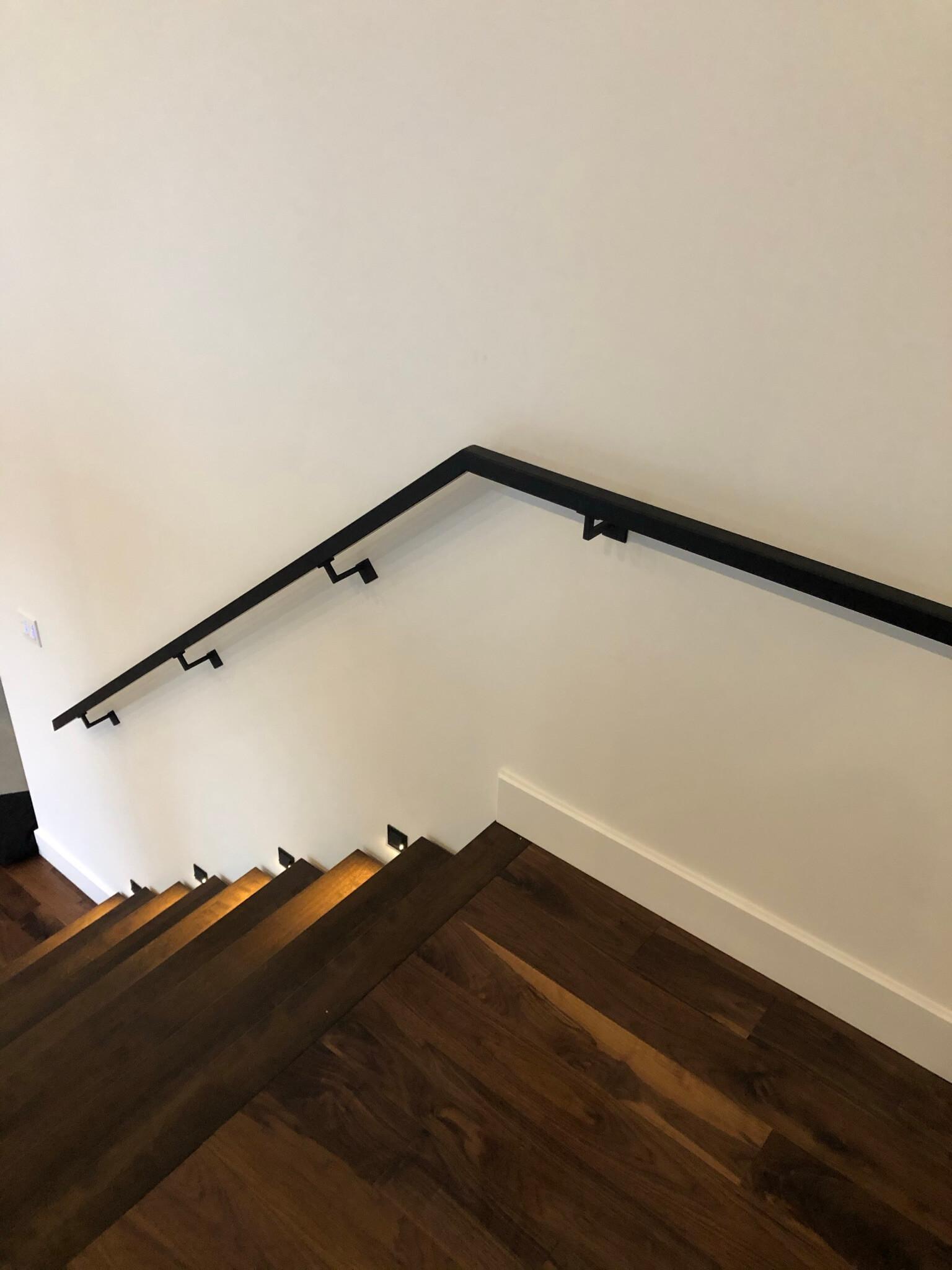 Escalier rampe en verre - Lorraine - 011