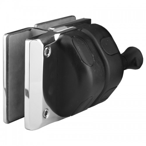Latch for 8- to 12-mm Glass Gate