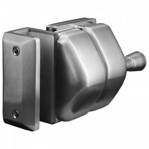 Stainless Steel Latch for 8- to 12-mm Glass Gate