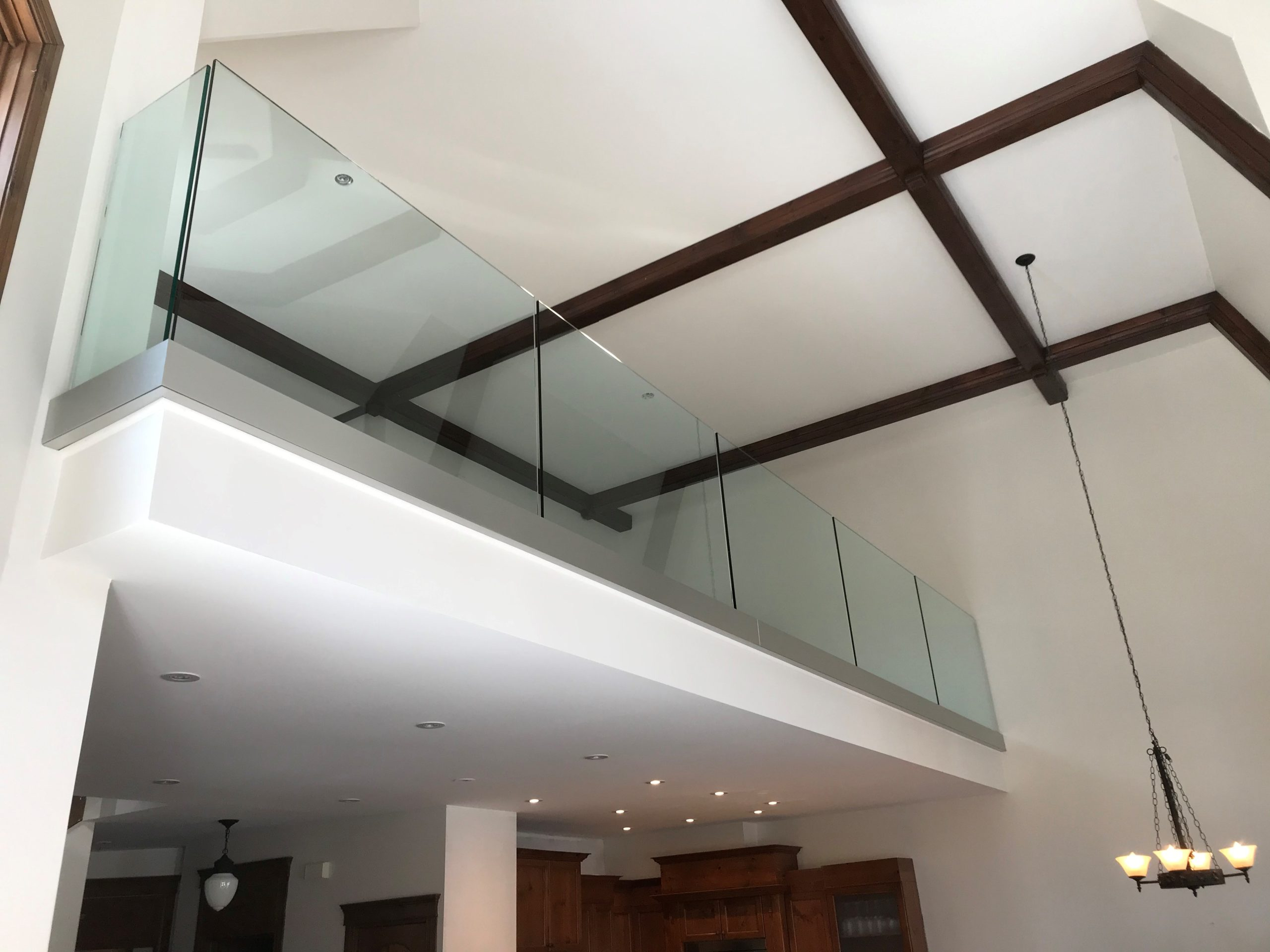 Built-in Rail for Glass Railing 2