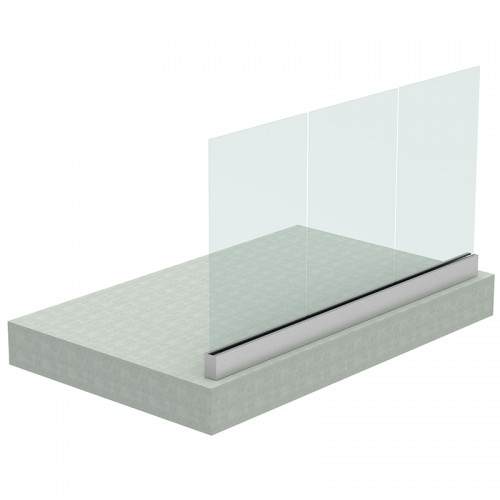 Built-in Rail for Glass Railing 7