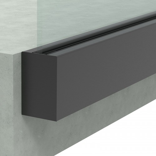 Built-in Rail for Glass Railing 3