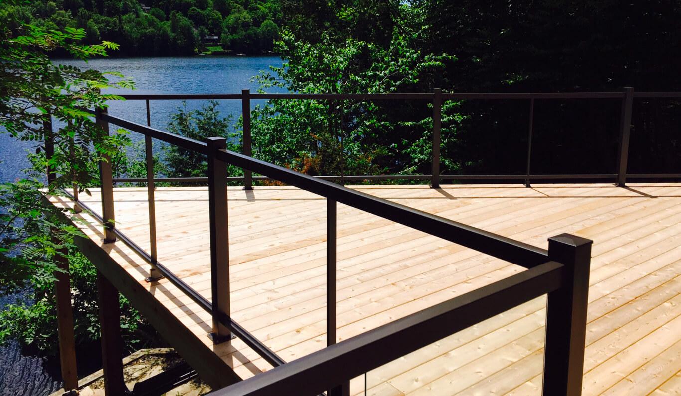 construire terrasse et rampe