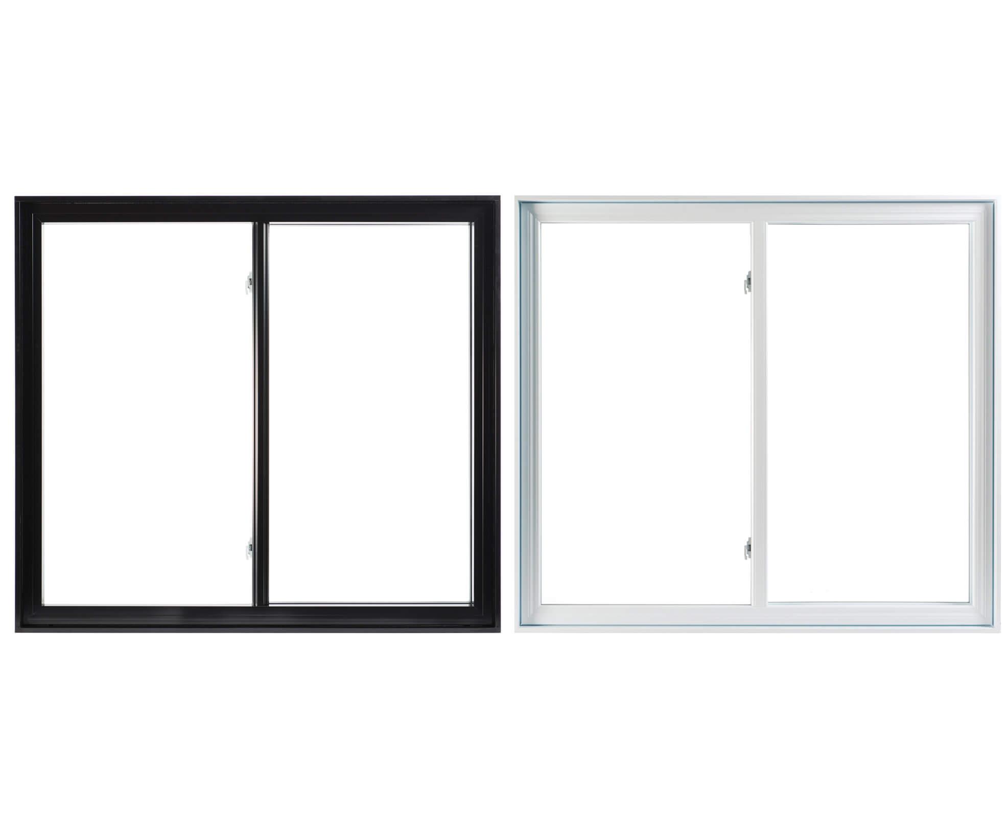 pvc and aluminium sliding windows