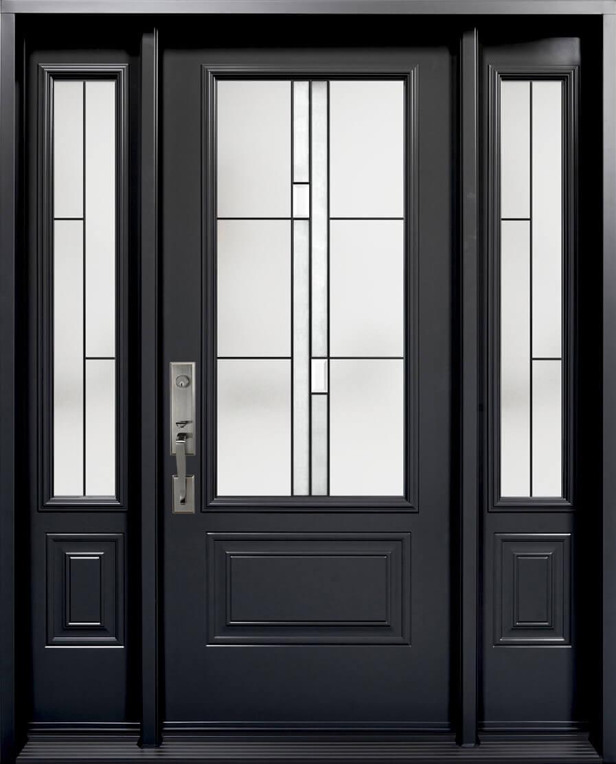 steal exterior door