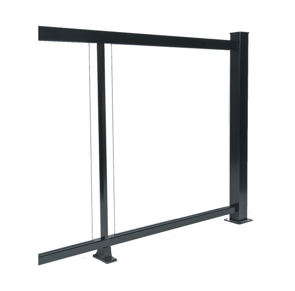 6-mm tempered glass railing 3